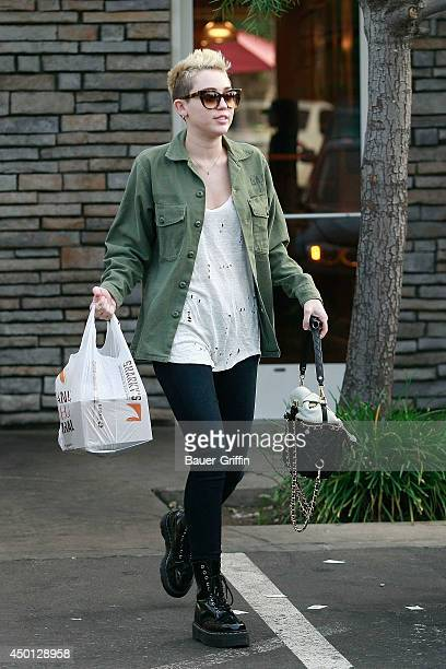 Miley Cyrus is seen on January 05 2013 in Los Angeles California