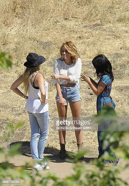 Miley Cyrus is seen on June 06 2012 in Los Angeles California