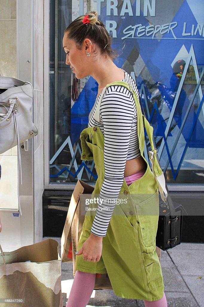 b0ffd8acdc3 Miley Cyrus is seen on September 15, 2015 in Los Angeles, California ...