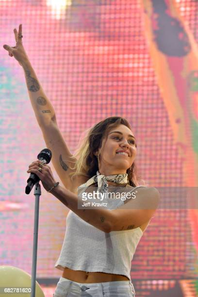 Miley Cyrus performs onstage during 1027 KIIS FM's 2017 Wango Tango at StubHub Center on May 13 2017 in Carson California