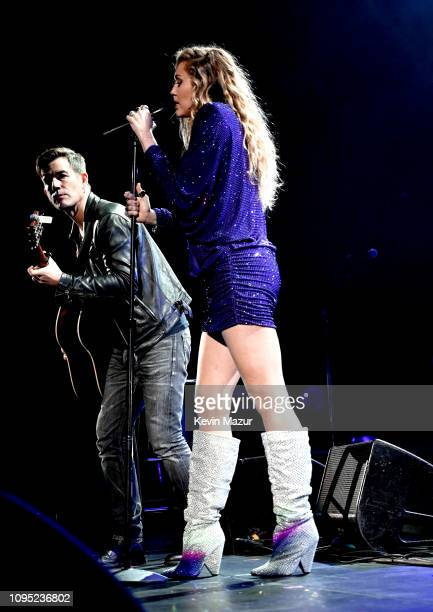 Miley Cyrus performs onstage during I Am The Highway A Tribute To Chris Cornell at The Forum on January 16 2019 in Inglewood California