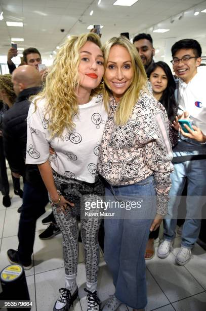 Miley Cyrus Surprises Fans at Nordstrom The Grove to Celebrate Converse X Miley Cyrus PopUp Shop at The Grove on May 1 2018 in Los Angeles California
