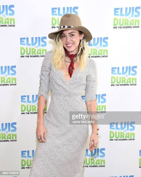 Miley Cyrus visits 'The Elvis Duran Z100 Morning Show' at Z100 Studio on May 16 2017 in New York City