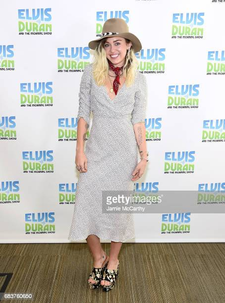 Miley Cyrus visits The Elvis Duran Z100 Morning Show at Z100 Studio on May 16 2017 in New York City