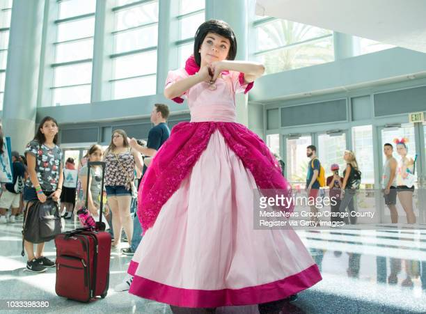 Miley Romero attends the first day of the D23 EXPO 2015 at the Anaheim Convention Center as Melody INFORMATION Disney230815 Ð 8/14/15 Ð LEONARD...