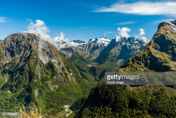 Milford Track from Mackinnon Pass