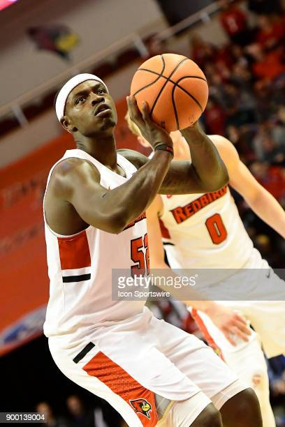 Milik Yarbrough forward Illinois State University Redbirds made nine of 13 free throws against the Indiana State Sycamores Sunday December 31 at...