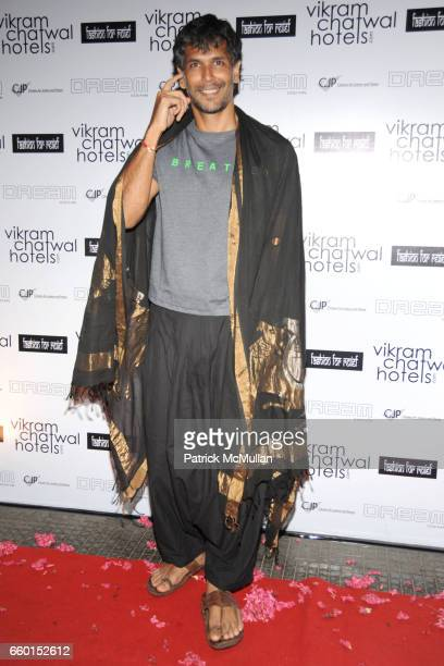 Milind Soman attends VIKRAM CHATWAL HOTELS Presents MAI MUMBAI with Fashion For Relief at LAKME FASHION WEEK After Party at China House Lounge on...