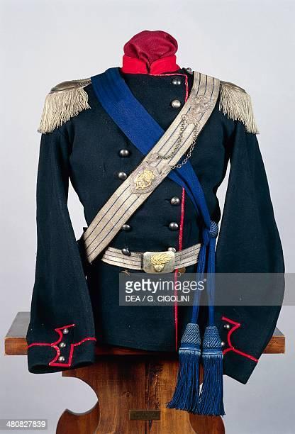 Militaria Italy 19th century Royal Piedmontese Squadron tunic Pinerolo Museo Storico Dell'Arma Di Cavalleria