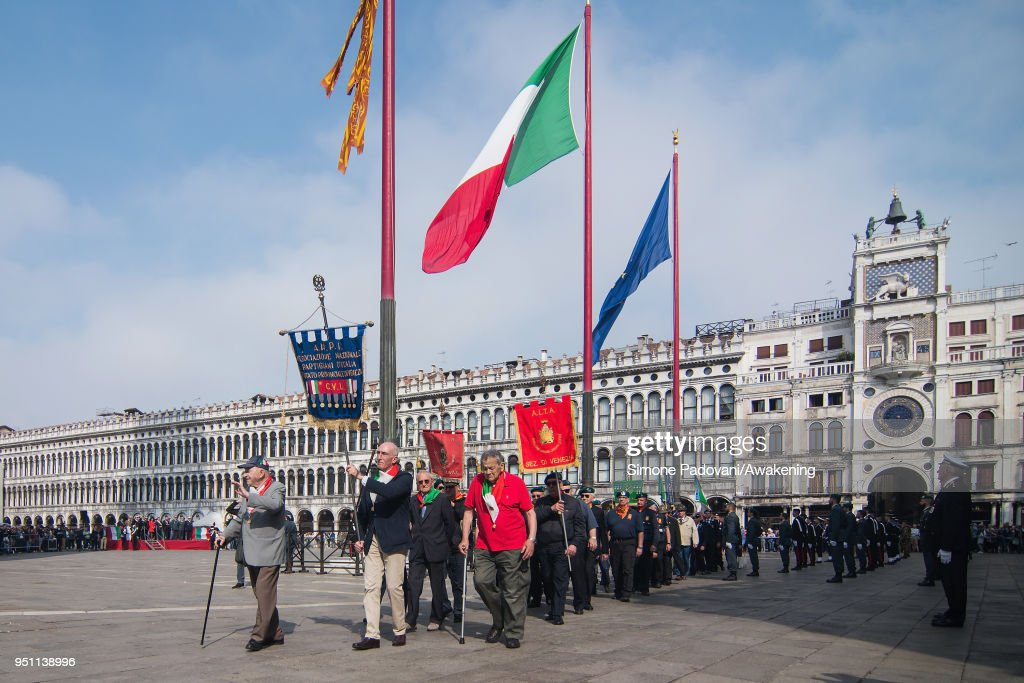 Feast Of The Patron And The Liberation From Nazi Occupation In Venice