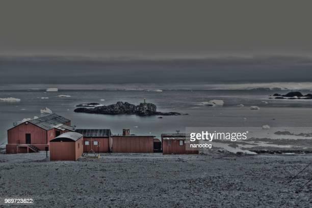 Military base in Antarctica