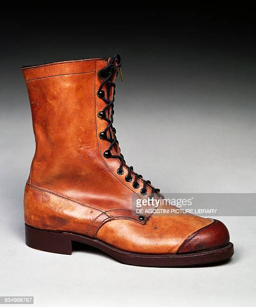 Military boot 1935 Italy 20th century