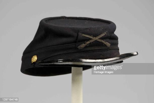 Military cap, American, 1881-82. Artist Unknown.