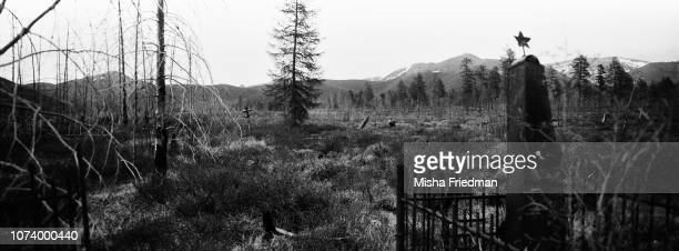 Military cemetery near uranium mines Magadan The Gulag was a monstrous network of labor camps that held and killed millions of prisoners from the...