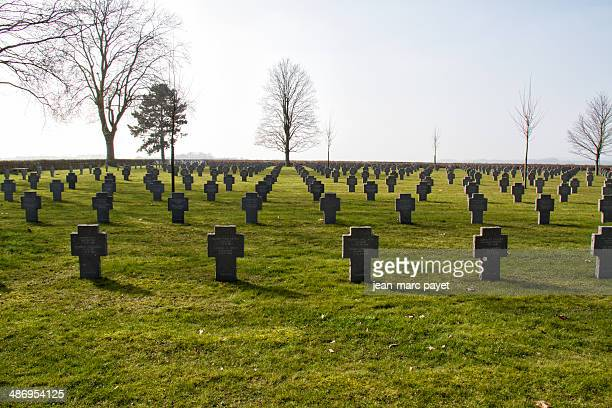 Military cemetery of cerny-en-laonnais The chemin des dames is located between Soissons Laon and Reims. It is in this place took in april 1917...