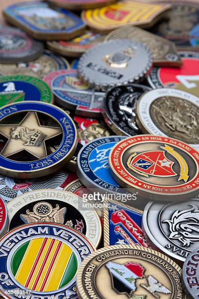 Military Challenge Coin Collection