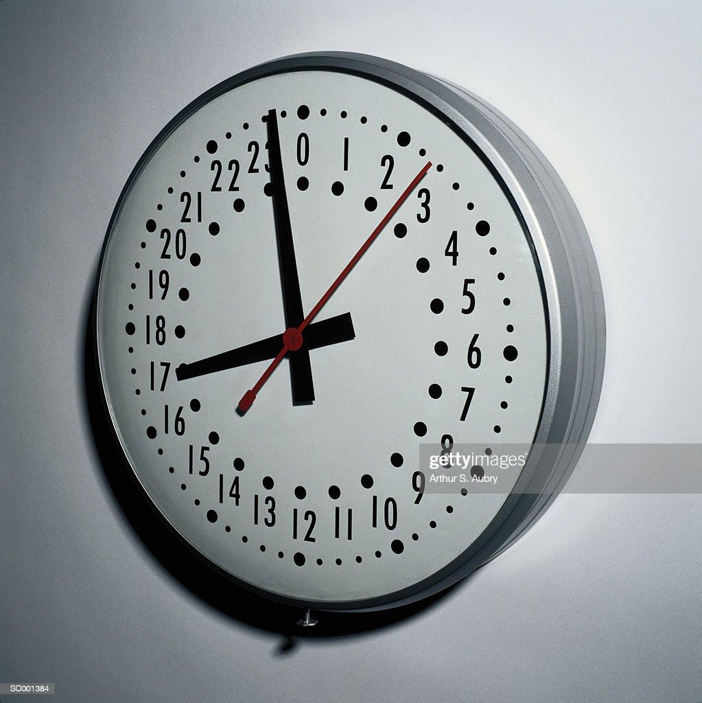 Military Clock : Stock Photo
