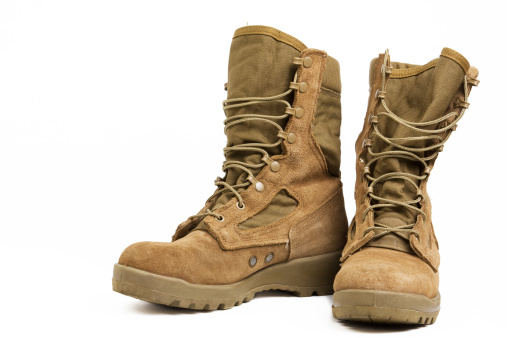 Military Combat Boots 182404380