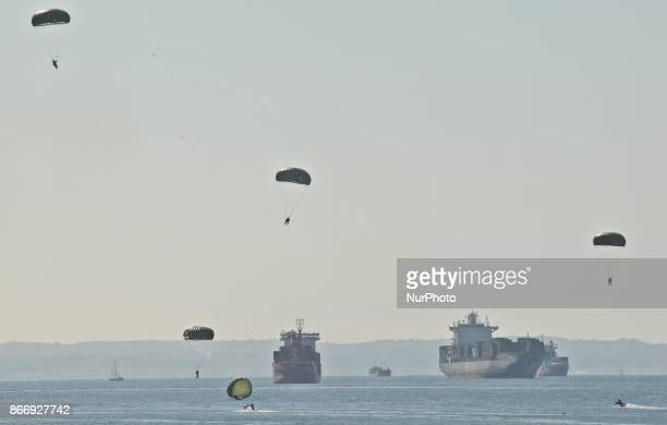 Military Exercise during celebrations to mark the quotOhi Dayquot Thessaloniki oktober 26 2017