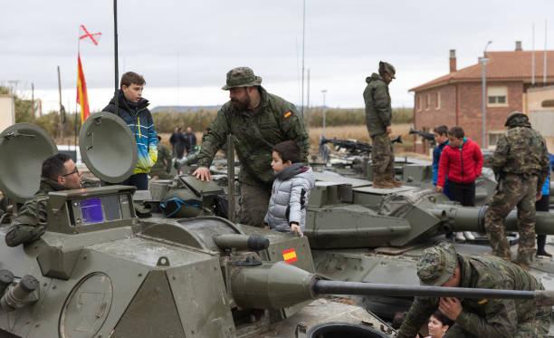 ESP: Military Exhibition In Grañen