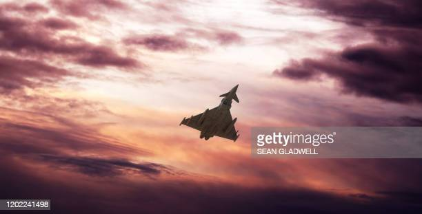 military fighter aircraft - british military stock pictures, royalty-free photos & images