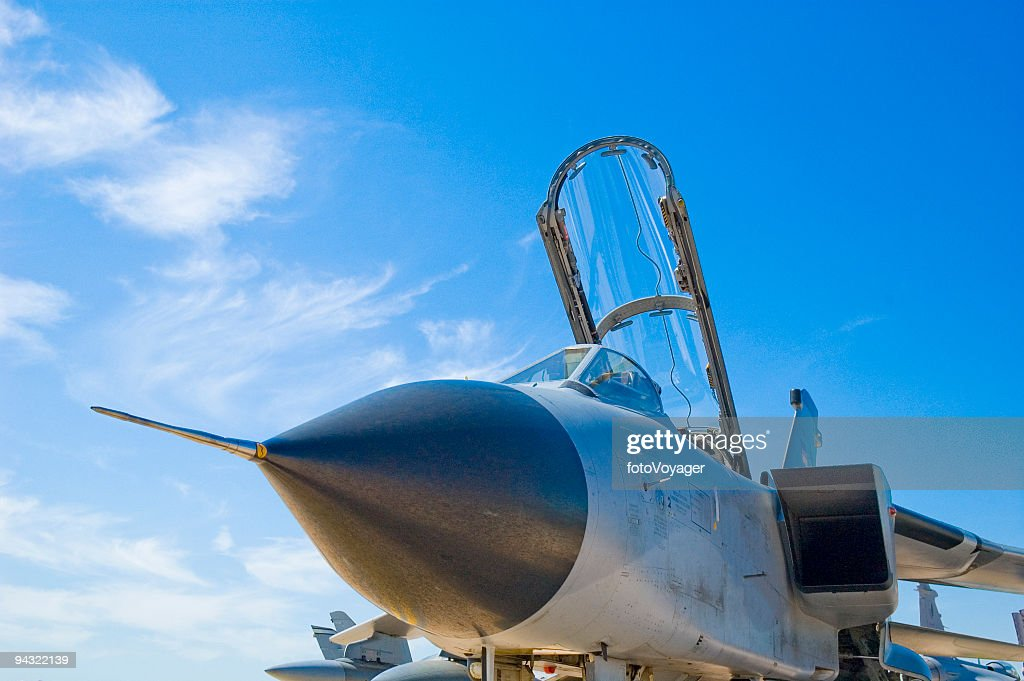 Military fighter jet : Stock Photo
