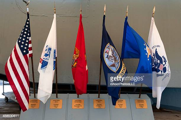 military flags - marines military stock photos and pictures