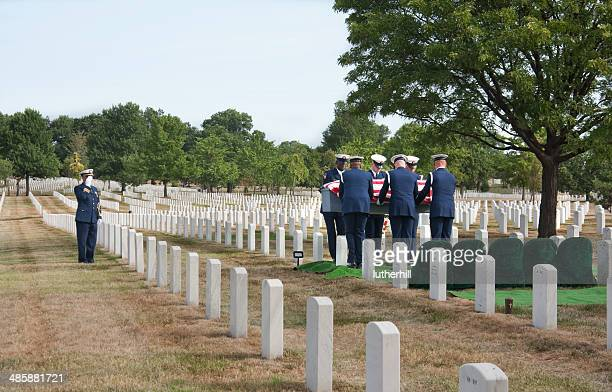 Military funeral Arlington National Cemetery