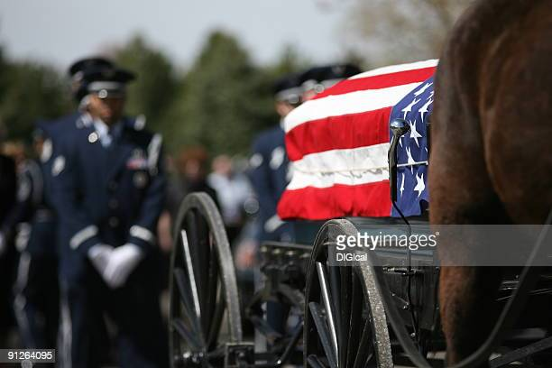 military funeral - folded flag stock pictures, royalty-free photos & images