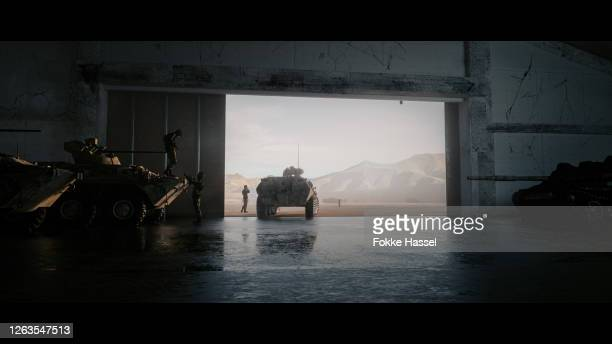military hangar - war and conflict stock pictures, royalty-free photos & images