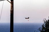 Wildfires sweep the island of Zakynthos
