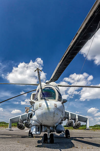 Military Helicopter Mi-24