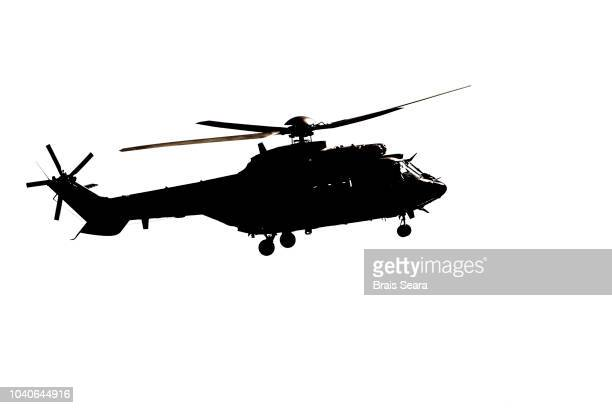 military helicopter - helicopter stock pictures, royalty-free photos & images