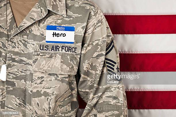 military hero - horizontal - general military rank stock photos and pictures