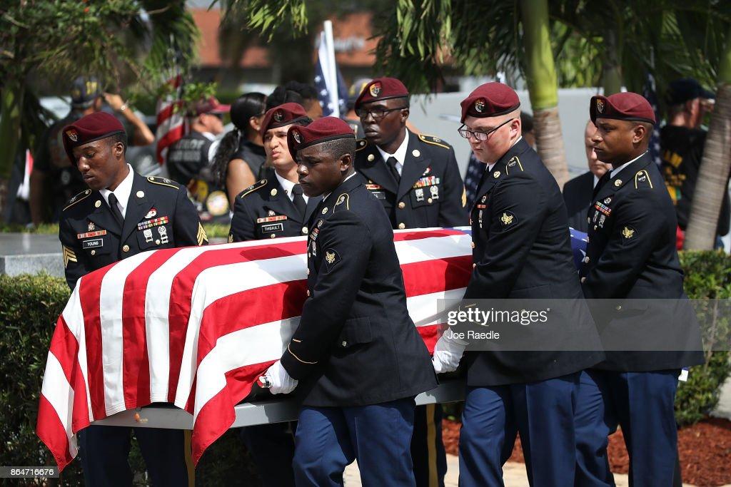 Funeral Held For Army Sergeant La David Johnson Killed In Ambush In Niger : News Photo