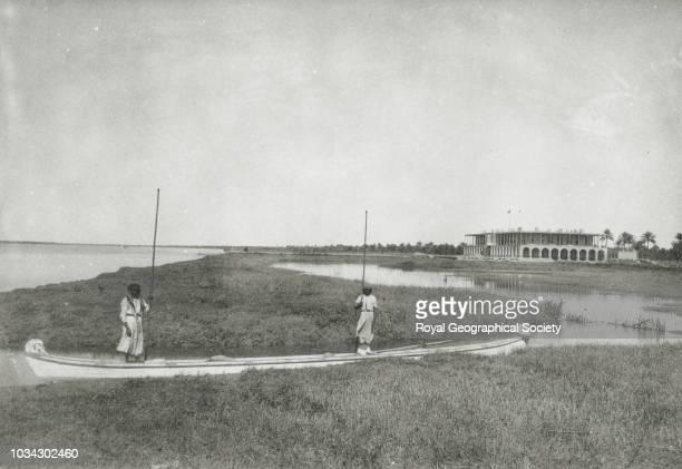 Military hospital, Basra, Iraq, circa 1891.
