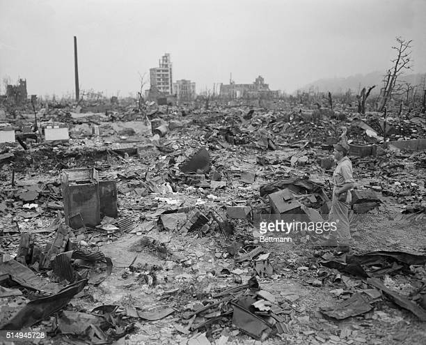 US Military Inspects Hiroshima Aftermath