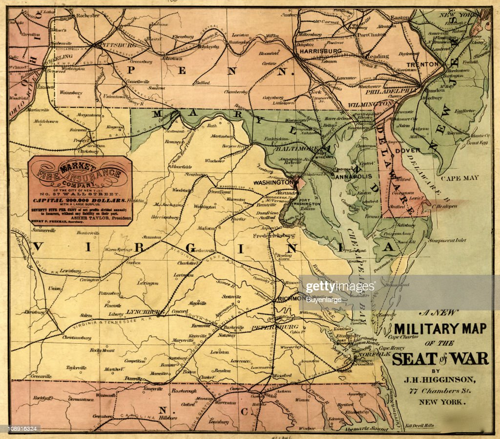 Military Map Of The United States Pictures Getty Images