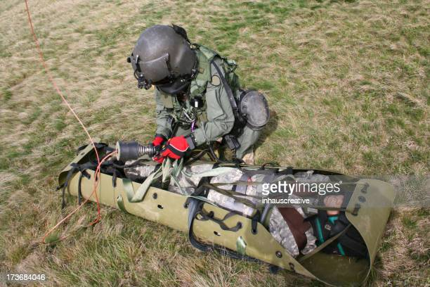 Military medical rescue mission training