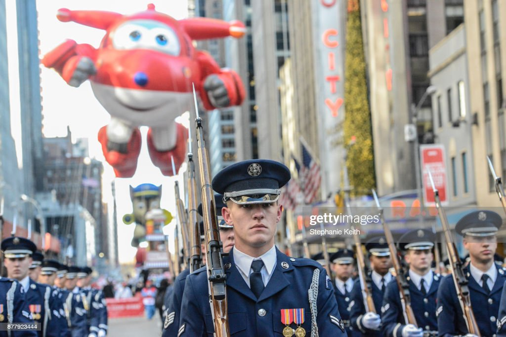 Annual Thanksgiving Day Parade Held In New York : News Photo