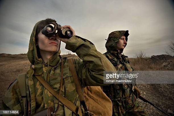 military men on watch - defending stock pictures, royalty-free photos & images
