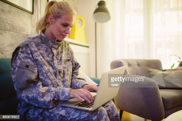military mid adult woman - us military stock pictures, royalty-free photos & images