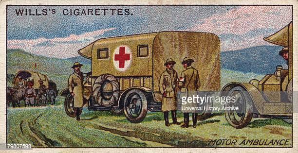 Serbian Motor Ambulance