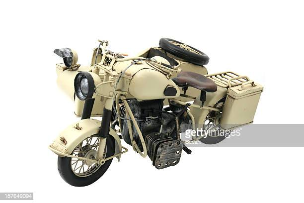 WWI Military Motorcycle