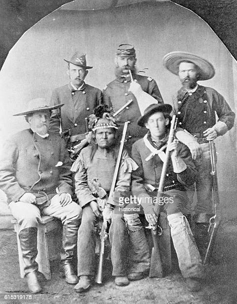 Military Officers at Camp Apache