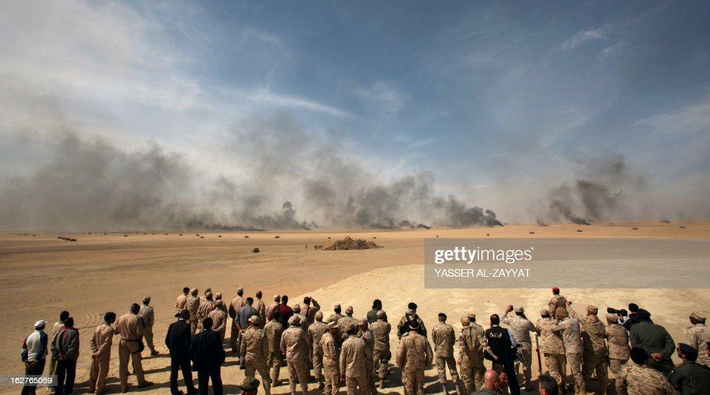 KUWAIT-NATIONAL-DAY-GCC-EXERCISES : News Photo