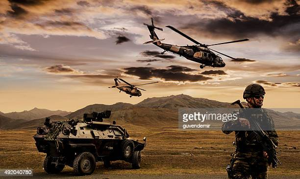 military operation - army soldier stock photos and pictures