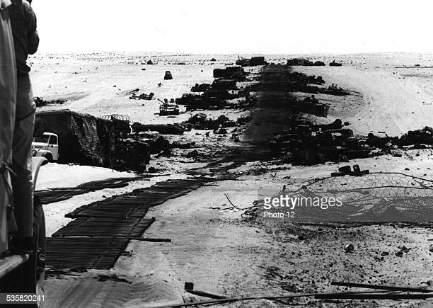 Military operations in the desert Israel Six Day War National archives Washington
