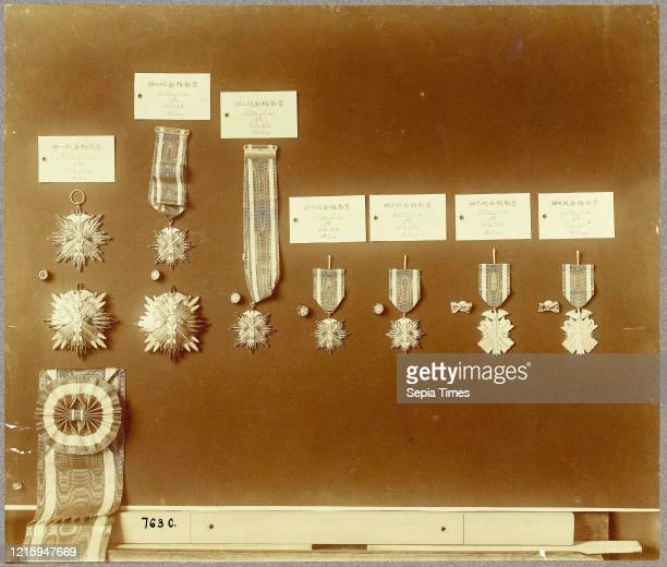 Military Order of the Golden Kite, 1880s-90s, Albumen silver print, Photographs, Unknown.