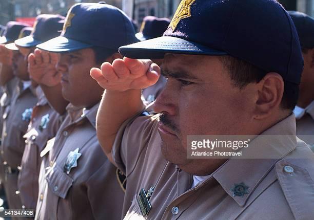 Military Parade at Plaza de los Fundadores